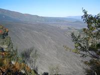 Valle del Bove Vista della Valle del Bove dal Monte Calanna  - Zafferana etnea (1552 clic)
