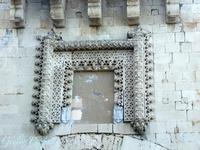 Particolare della porta su Foro Vittorio Emanuele III   - Siracusa (642 clic)