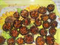 Ricci di mare aperti e colmi di uova  - Marsala (7829 clic)