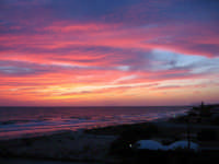 Cielo come dipinto in un magnifico tramonto d'estate..  - Marsala (7988 clic)