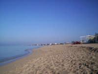 Mare e Spiaggia del Lido Signorino (scattata il 31/10/05)  - Marsala (6067 clic)