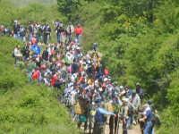 I Ramara durante il pellegrinaggio all'interno del bosco  - Troina (4068 clic)