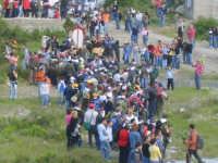 Arrivo dei ramara al fiume Troina  - Troina (4469 clic)