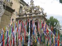 Particolare deilazzuna della vara di San Silvestro  - Troina (2169 clic)
