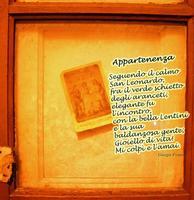 Appartenenza Poesia GiorgioFranco Copyright © all rights reserved anno di stesura - 2011 presentata al SanValentino in Poesia 2012 - Sez.poesia in lingua  - Lentini (1880 clic)