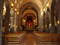 Arcipretura Chiesa Madre San Nicola sec.XV - Interno Navata Centrale  - Trecastagni (7119 clic)