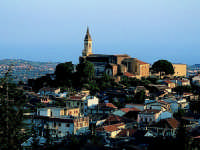 Arcipretura Chiesa Madre San Nicola sec.XV Panorama dal Forte Mulino a Vento  - Trecastagni (4590 clic)