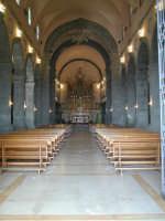 Arcipretura Chiesa Madre San Nicola sec.XV Interno Navata Centrale  - Trecastagni (3290 clic)