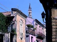 Arcipretura Chiesa Madre San Nicola sec.XV vista da Via V.Emanuele  - Trecastagni (2423 clic)