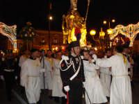Festa Patronale San Nicola Processione serale a spalla in Piazza  - Trecastagni (2525 clic)