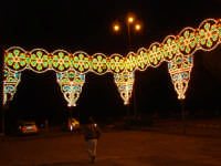 Festa Patronale San Nicola Luminarie Piazzale Belvedere  - Trecastagni (10606 clic)