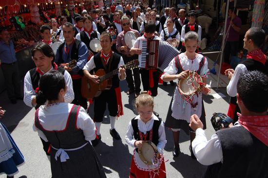 Sfilata gruppo folk