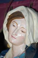 Particolare della Madonna addolorata di Sant'Agostino.    - Licata (3326 clic)