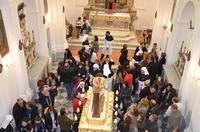 Simulacro del Cristo alla colonna, Venerabile Confraternita della Carità.   - Licata (2019 clic)