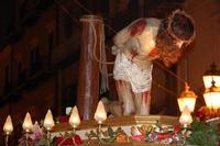Simulacro del Cristo alla colonna in processione, Venerabile Confraternita della Carità.   - Licata (1621 clic)