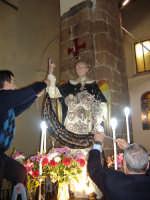 festa di San Vincenzo Ferreri; la posa dell'oro.  - Castelbuono (1702 clic)