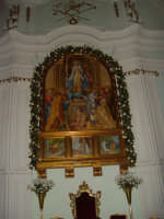 Pala d'altare della chiesa del Monte, L'Assunta GANGI Angelo Cucco