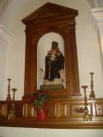altare di San Benedetto il Moro nella chiesa del Convento  - San fratello (7725 clic)