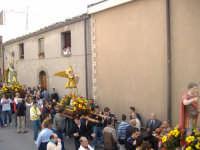 processione dei miracoli o dello Spirito Santo; Sant'Espedito, San Michele e San Biagio;  Gangi GANG