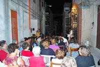 Messa di ferragosto all'aperto  Messa di ferragosto all'aperto nelle cappelle votivi di Chiusa Sclafani  quartiere (Madunnuzza) San Michele  - Chiusa sclafani (2616 clic)