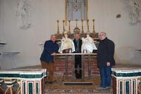 Incontro dei due Bambinelli. Incontro storico dei due Bambinelli nella chiesa del Carmine Chiusa Sclafani.  - Chiusa sclafani (686 clic)
