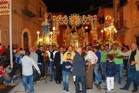 SS. Crocifisso 2011 Processione SS. Crocifisso con Santi.   - Chiusa sclafani (3900 clic)