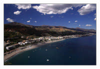 Scorcio della costa  - Sant'alessio siculo (3284 clic)