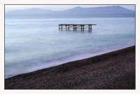 Veduta delle Eolie dalla spiaggia di Capo Calavà  - Gioiosa marea (2400 clic)