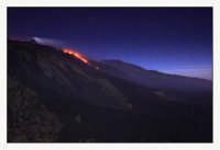 VeEruzione dell'Etna da Schiena dell'Asino  - Etna (2377 clic)