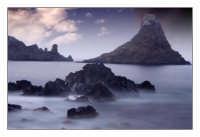 Faraglioni al crepuscolo  - Aci trezza (7085 clic)