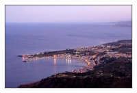 Panorama al crepuscolo  - Giardini naxos (6942 clic)