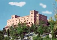 Il Castello Utveggio, sorge a picco sulla Mole del Pellegrino PALERMO Carlo Ireneo Reina Bonetti