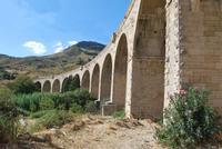 Ponte tredici luci San Carlo frazione di Chiusa Sclafani Ponte tredici luci, sul fiume Sosio  - Chiusa sclafani (4254 clic)
