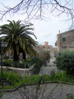 Largo Conte veduta chiesa Madre foto Gennaio 2009  foto Giuseppe Lombardi  - Chiusa sclafani (3154 clic)