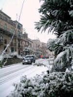 Via Ungheria sotto la neve 13 febbraio 2009  - Chiusa sclafani (4059 clic)