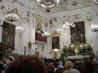Benedizione e inaugurazione dell'Organo a Canne nella Chiesa del Santuario Madonna del Balzo 24 agosto 2009  - Bisacquino (4970 clic)