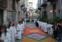 Infiorata del Corpus Domini 2009  - Chiusa sclafani (4089 clic)