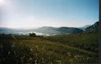 Lago di Piana degli Albanesi_dalla SP34 PIANA DEGLI ALBANESI ******** puzzolabandita