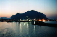 Palermo e Monte Pellegrino visti dalla motonave PALERMO ******** puzzolabandita