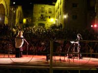 Amores, Amandi, testi di Ovidio - Debora Caprioglio e Milo Vallone nello splendido scenario di Piazza Municipio - 22-08-2008  - San mauro castelverde (1254 clic)