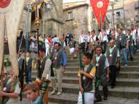Confraternite. Processione San Mauro Abate. A Fera Luglio 2008  - San mauro castelverde (1696 clic)