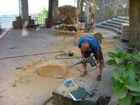 Arte in Piazza, scultori all'opera. 27 Luglio 2008   - San mauro castelverde (1503 clic)
