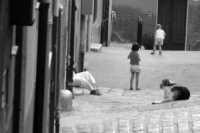 Giochi in cortile  - Naro (2744 clic)