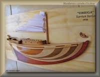 Artigianato artistico licatese - mezzo scafo di una barca a vela inglese a chiglia lunga  - Licata (4241 clic)