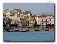 il borgo della Marina ed il porto  - Licata (2053 clic)