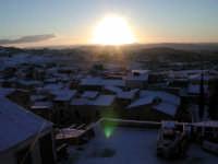 Tetti innevati al tramonto  - San cataldo (5447 clic)