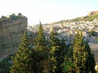 Panorama di Corleone visto dal calvario cona sinistra il castello sottano  - Corleone (3759 clic)