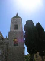 Campanile con orologio della chiesa greca  - Contessa entellina (6745 clic)