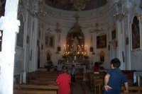 Interno del santuario di Santa Rosalia  - Santo stefano quisquina (4581 clic)