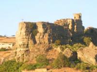 Il  Castello Soprano dove è situata la Torre dei Saraceni (in alto a destra).  - Corleone (4421 clic)